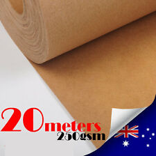 20M Kraft Paper Roll 250gsm/1000mm Wide Pattern Drafting Blocks  For DressMaking