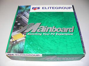 ELITEGROUP K7SOM+ Micro ATX Motherboard Mainboard AMD Sockel A / 462 Neu