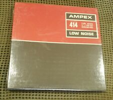 """Ampex #414 Low Noise Recording Tape -1.5 Mil 1/4"""" x 1200' 7"""" Reel- *Sealed*"""