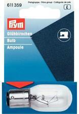 Glühbirne für Nähmaschinen Glühlampe Prym 611359 Bajonettfassung