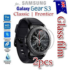 2x Samsung Galaxy Gear S3 Classic / Frontier Tempered Glass LCD Screen Protector