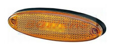HELLA 2PS007943017 YELLOW AMBER LED SIDE MARKER LIGHT LAMP WITH REFLECTOR