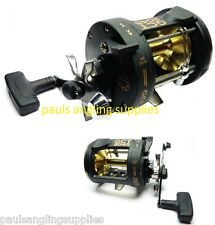 Lineaeffe GCT 30 Size Trolling / Multiplier Reel For Boat Fishing  Alloy Spool