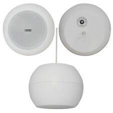 12.7cm 20W Weiß hängend/schwebend Anhänger Decken-Lautsprecher 100V & 8 Ohm