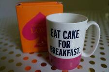 Kate Spade New York Things We Love Eat Cake For Breakfast LENOX Porcelain Mug