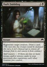 4x Dark dabbling   nm/m   Magic Origins   mtg