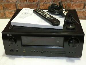 Denon AVR-2310 Dolby 7.1 Channel 5 HDMI Input Surround Sound Receiver Amplifier