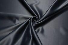 Verdunkelungsstoff Satin Thermogardine Blackout Gardine 100% Blickdicht Vorhang
