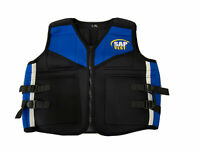 SAP Weight Vest Zip-up Crossfit Strength training Adjustable Gym No weights L-XL