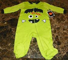 NEW Frankenstein HALLOWEEN ~ Infant CREEPER BODYSUIT FOOTIE ~ NB Newborn Costume