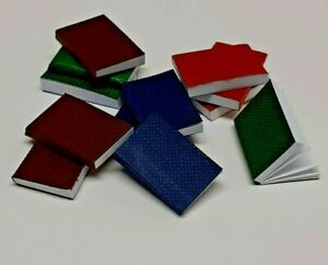 DOLLS HOUSE 1/12th SCALE SET OF 12 LARGE BOOKS