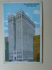 post card NEW YORK CITY The Equitable Bulding
