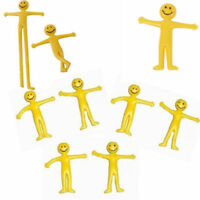 12 Stretchy Smiley Men.Boys,Girls Party Bag Fillers,Loot,Pass The Parcel Gift