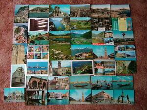40 Unused Postcards of ITALY & ISLANDS. Modern & Standard size.