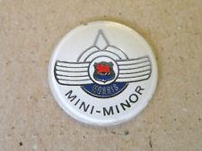 MORRIS MINI MINOR Mk1 Badge Gear Knob Key Fob Auto Car Emblem Alexander NOS
