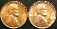 1960 PD Small Date Lincoln Memorial Pennies Cents in US Coin BU Uncirculated