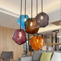 Bar Glass Pendant Light Kitchen Lamp Modern Pendant Lighting Room Ceiling Lights