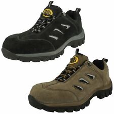 MENS TRUKA SAFETY WORK WEAR SHOES BOOTS A2R051 LACE UP STEEL TOE CAP
