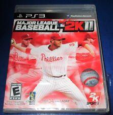 Major League Baseball 2K11 PlayStation 3 *New (Torn Cellophane) *Free Shipping!