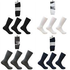 Unisex Girls Boys Kids School Uniform Ankle Socks 6 Pairs Plain Colours
