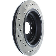 Disc Brake Rotor-Sport Drilled/Slotted Disc Rear Left Stoptech 127.34046L