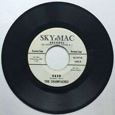 The Champagnes: Crazy/Cash 45 RPM Promo - Northern Soul Doo Wop 1963 NM