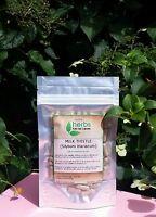 Milk Thistle (Silybum marianum)  - 100x Pure Herbal Capsules.