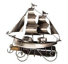 Weinflaschenhalter Segelschiff Maritim Flaschenhalter