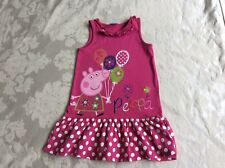 George Peppa Pig Pink Dress 3-4 years Good condition Small stains