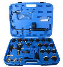 Universal Pneumatic Radiator Pressure Tester & Vacuum Coolling System Kit 28PC