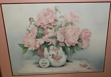 """GLYNDA TURLEY """"PETALS IN PINK"""" LIMITED EDITION SIGNED LARGE LITHOGRAPH"""