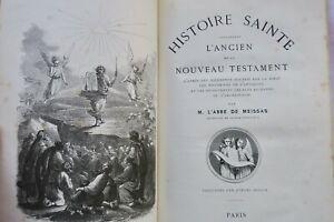 Testament Histoire Sainte comprenant l'Ancien et le Nouveau Testament Hetzel