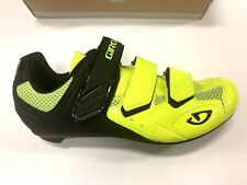 NEW in Box Giro Treble II Men's Road and SPD Cycling Shoe Hi Vis Yel EU 41 US 8