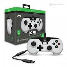 Hyperkin Xbox One X91 Wired Game Controller White for Xbox One System and PC