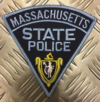 Eeuu Massachusetts Estado Police ( Msp ) Parche Hombro/Insignia PB14