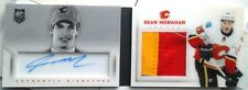 BOOKLET /25 SEAN MONAHAN PLAYBOOK ROOKIE FIRST ROUND AUTO JERSEY PRIME PATCH