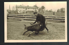 1943 Gnesen Germany RPPC Wehrmacht Postcard Cover Horse cancel stamp Cavalry