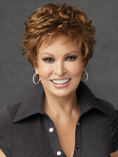 New Fashion Light Brown Curly Hair Wigs Natural Women's Short Wig