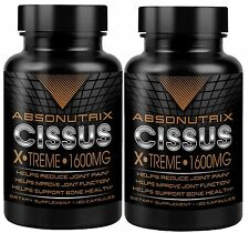 2 Ct Absonutrix Cissus Xtreme  antioxidant all natural 1600mg/serving