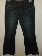 Chip & Pepper Production Ocean Beach Ultra Flare Jeans Womens Size 11 33.5x31.75