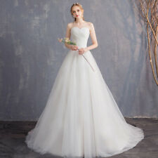 modern stylish strapless wedding dress simple elegant tulle bridal gown