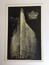 Hotel Victoria New York City Radio City meets Time Square Unposted Postcard