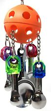 1369 Spoon Pull Bonka Bird Toys parrot cage toys cage african grey amazon macaw