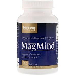 Jarrow Formulas MagMind Cognition and Brain Health Supplement, Expires 11/2021