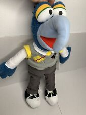 "Preppy Gonzo 17"" Plush Stuffed Animal Muppets Most Wanted Disney Store"