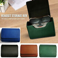For Sony WF-1000XM3 Headset Earphone Leather Case Cover PRotective Storage Box