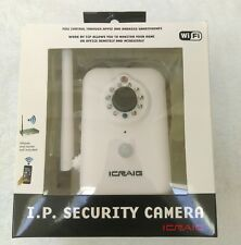 Craig I.P WIFI Security Camera White Apple iPhone Android