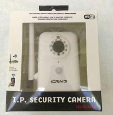 Craig I.P Security Camera, White Apple Android