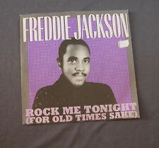 "Vinilo SG 7"" 45 rpm  FREDDY JACKSON - ROCK ME TONIGHT -   Record"