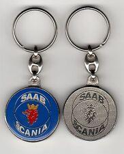 Saab Scania Schlüsselanhänger - Maße Emblem 37mm